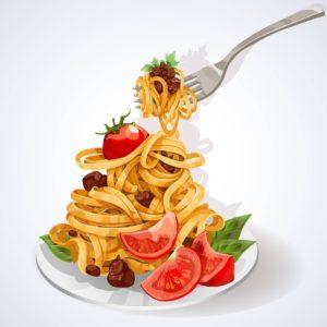primo piatto a base di carboidrati