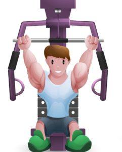 allenamento aumento massa muscolare