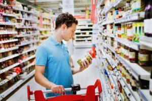 leggere etichette spesa