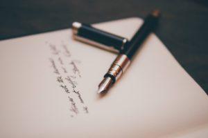 scrivere obiettivo