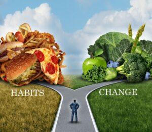 cambiare le abitudini
