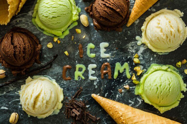 gelato a pranzo