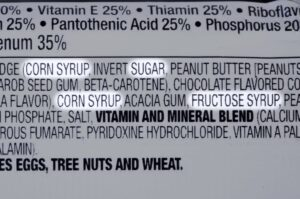 valori nutrizionali gelato